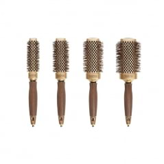 Set de 4 brosses carrées NanoThermic Ceramic + Ion