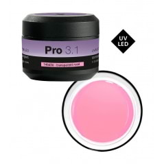 Gel UV et LED de construction transparent rosé Gel Pro 3.1