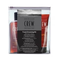 Trousse de voyage pour homme Travel Grooming kit American Crew