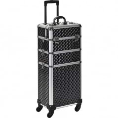 Valise aluminium Diamond Beauty Big