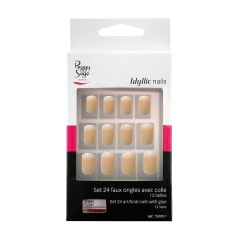 Kit de faux ongles avec colle Idyllic Nails Baby Boomer