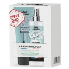 Duo pack de shampoing et lotion anti-pelliculaire California